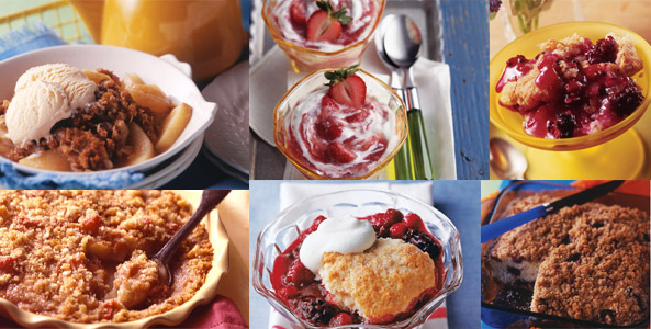 Homespun Fruit Desserts