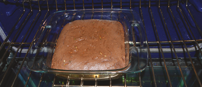 Baked Cake in Oven