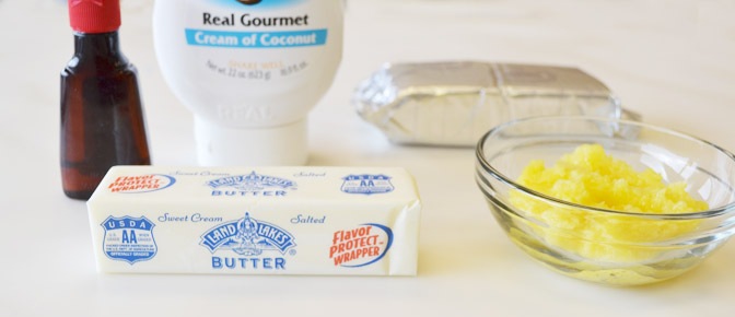 Coconut Frosting Ingredients