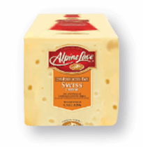 Alpine Lace<sup>&reg;</sup> Packaged Sliced Deli Cheese