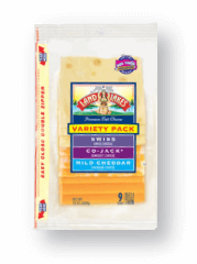 Packaged Sliced Deli Cheese