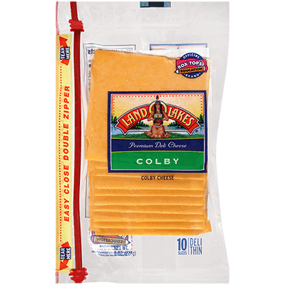 Sliced Colby Cheese | Land O'Lakes